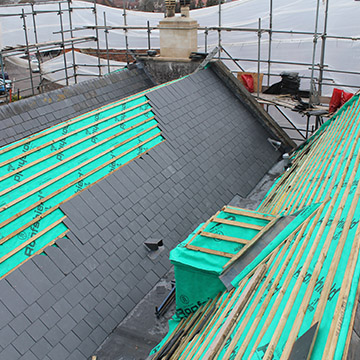 Roofing, tiling and leadwork